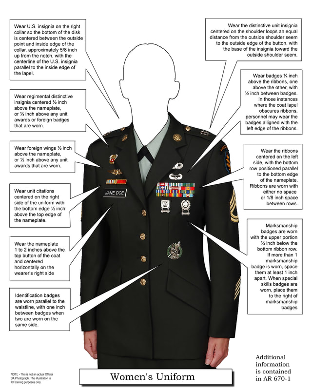 Ar 670 1 Uniform Regulations Sante Blog